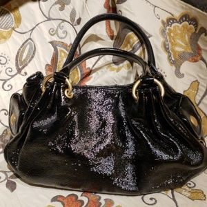 Juicy Couture Black Patent Purse
